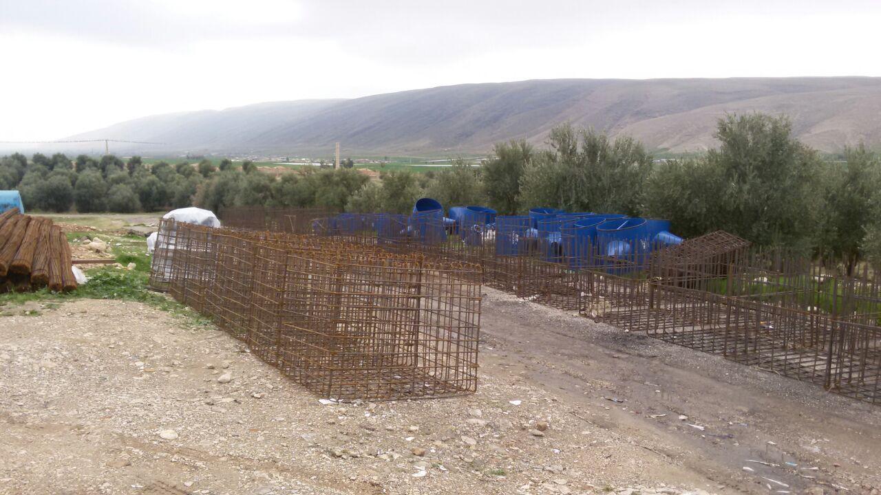 عملیات اجرایی بهسازی شبکه آبیاری و زهکشی اراضی دشت حومه و قراویز و جگرلو